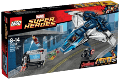 LEGO® Super Heroes Pościg Avengersów w Quinjecie