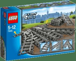 LEGO® City Trains Zwrotnica kolejowa