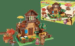 BIG Bloxx Máša a medveď - Míšův dom