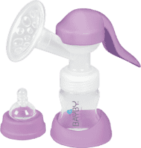 BAYBY Manuálna 2-fázová odsávačka materského mlieka