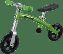 MICRO G-Bike+ Light odrážadlo, zelené