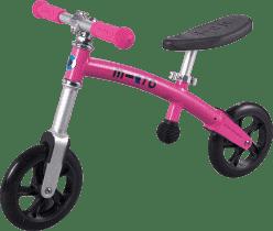 MICRO G-Bike+ Light odrážadlo, ružové