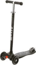 MICRO Maxi T-bar kolobežka, čierna