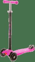 MICRO Maxi T-bar koloběžka, růžová