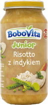 BOBOVITA Domowe risotto z soczystym indykiem (250g)