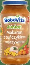 BOBOVITA Makaron z tuńczykiem i warzywami (250g)