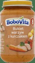 BOBOVITA Bukiet warzyw ze złotym kurczakiem (190g)