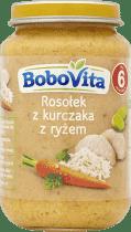 BOBOVITA Tradycyjna pomidorowa z kurczakiem i ryżem (190g)