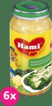 6x HAMI gratinovaná brokolica so syrom 250g - zeleninový príkrm