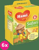 6x HAMI sušienky Safari 180g