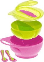 BROTHER MAX Set misek s ouškem - růžový/zelený