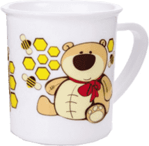 CANPOL Babies Plastový hrnček – medvedík