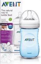 AVENT Butelka 260 ml Natural PP niebieska