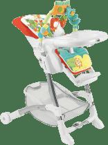 CAM jedálenské stoličky ISTANTE chróm - farebné zvieratká