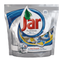 JAR kapsle na mytí nádobí Platinum 20ks (Premium klub)