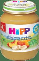 HIPP ovocný príkrm Jablká s banánmi a broskyňami 125g