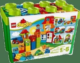LEGO® DUPLO® Kolorowe pudełko DELUXE – zestaw klocków