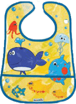 MUNCHKIN – Farebný podbradník 2 ks - rôzne druhy