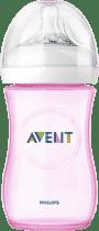 AVENT Láhev 260 ml Natural PP růžová