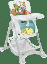 CAM Jedálenská stolička Campione - farebné zvieratká