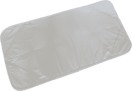 PETITE&MARS Chránič matrace do postýlky Aerodry - bílý