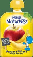 NESTLÉ NATURNES Banán, Jablko (90g) - ovocná kapsička