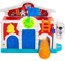 BRIGHT STARTS Zabawka – Straż Pożarna, 12-36m