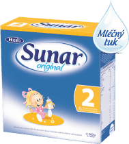 Sunar original 2 (500 g) - kojenecké mléko