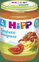 HIPP BIO špagety v boloňské omáčce (190 g) - maso-zeleninový příkrm