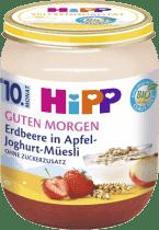 HIPP BIO Müsli, jahody a jogurt (160 g) - ovocný příkrm