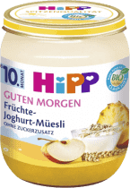 HIPP BIO Müsli, ovoce a jogurt (160 g) - ovocný příkrm
