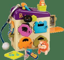 B-TOYS zverolekárske kufrík Pet Vet Clinic