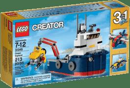 LEGO® Creator Badacz oceanów