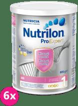 6x NUTRILON 1 ProExpert HA (800g) - dojčenské mlieko