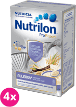 4x NUTRILON ProExpert Allergy (250g) - nemliečna kaša