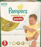 PAMPERS Premium Care Pants 5 JUNIOR 20 ks, 12-18 kg (Premium klub)