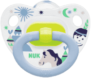 NUK Dudlík Classic HAPPY DAYS, silikon, velikost 2 (6-18m.) - indiáni