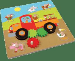 SCRATCH Pohyblivé puzzle farma