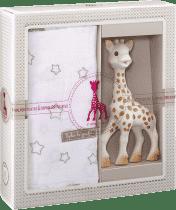 VULLI Mój pierwszy zestaw prezentowy żyrafa Sophie i otulaczek