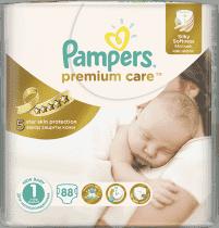 PAMPERS Premium Care 1 NEWBORN 88 szt. (2-5kg) VALUE pack – pieluchy jednorazowe