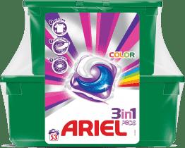 ARIEL Color (53szt.) - żelowe kapsułki do prania