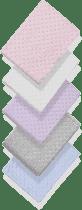 INTERBABY Koc extra miękki kuleczki – 80x110 – kremowy