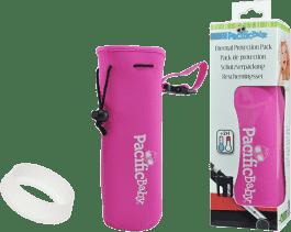 PACIFIC BABY Termoopakowanie + osłona butelki Różowy