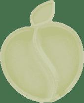 PACIFIC BABY Bamboo Apple Talerzyk biały