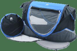 DERYAN Sunny Bebe łóżeczko turystyczne – niebieskie