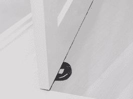 LINDAM Zabezpieczenie gumowe na drzwi (Xtra Guard) 1 szt.