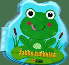 KNIHA Knížka do vany - Žabka Kuňkalka