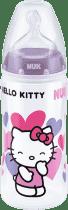 NUK FC+ Butelka HELLO KITTY PP, 300 ml, silikon, rozmiar 2, M – fioletowa