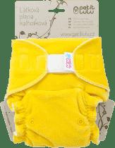 PETIT LULU Žltý medvedík (velúr) - nohavičková plienka sz