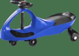 SUN BABY Jeździk Twist Car – niebieski